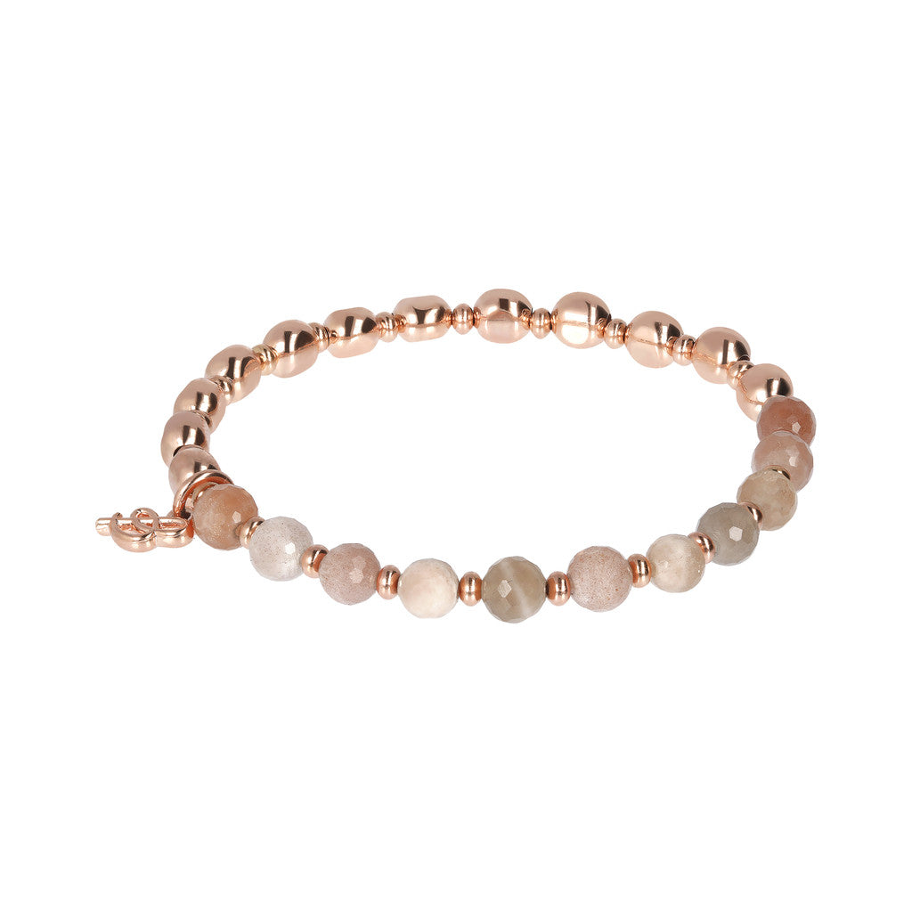 Rainbow Bracelet PEACH MOONSTONE