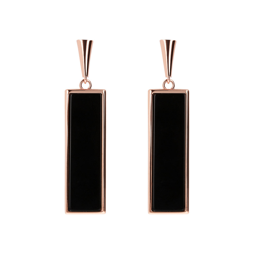 Rectangular Dangle Earrings