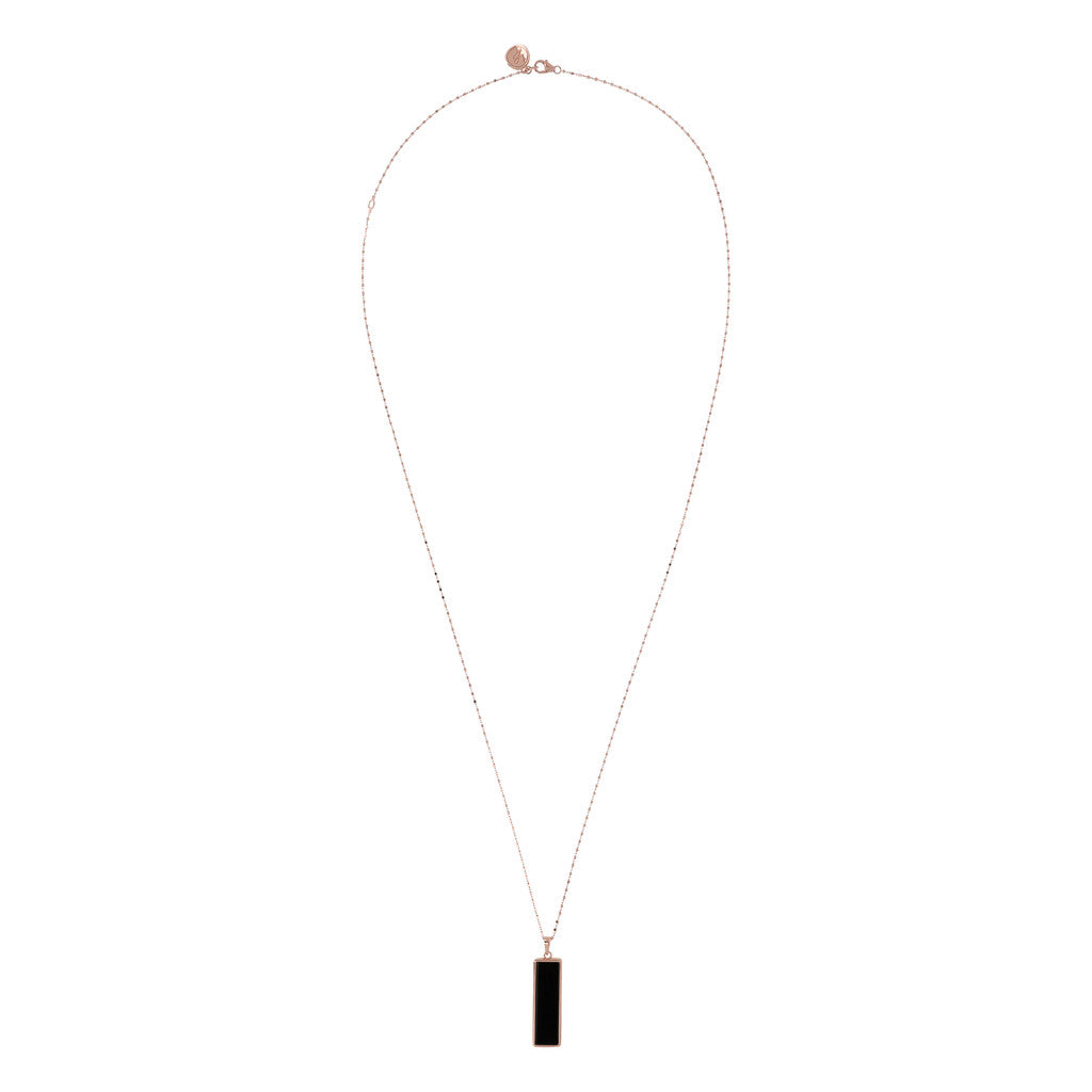 Rectangular Necklace from above