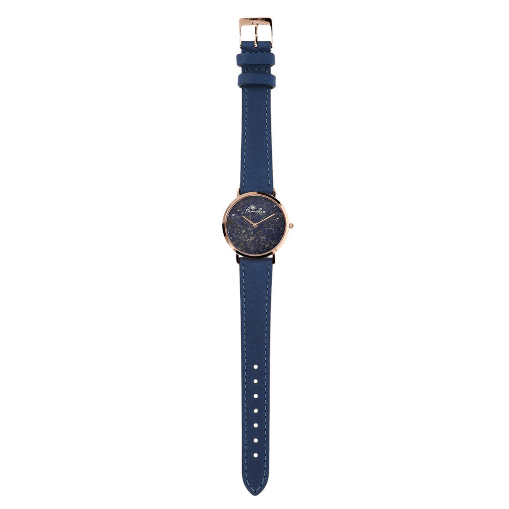 Regular Watch in Lapis bracelet