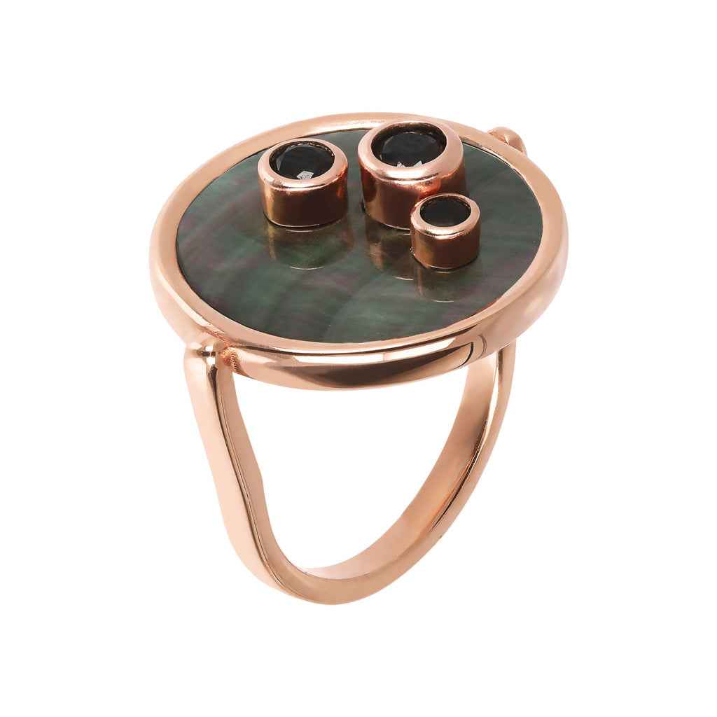 Bronzallure | Rings | Ring With Cabochon