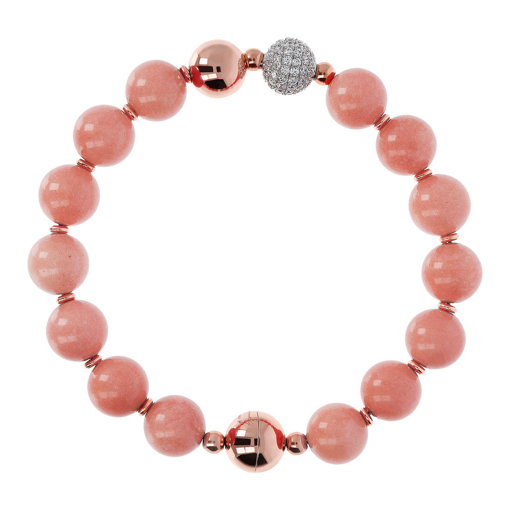 Rose Globe Bracelet FLAMINGO
