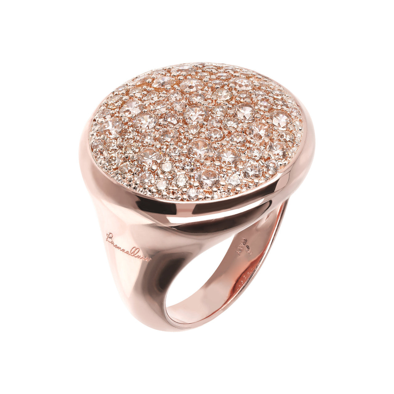 Pave Dome Ring MORGANITE