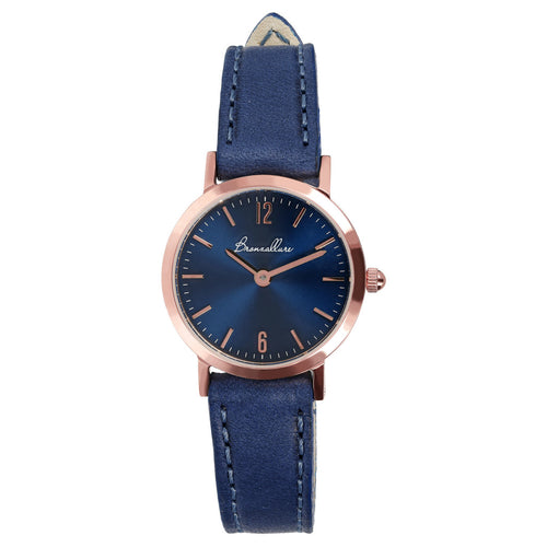 Round Watch Blue Dial