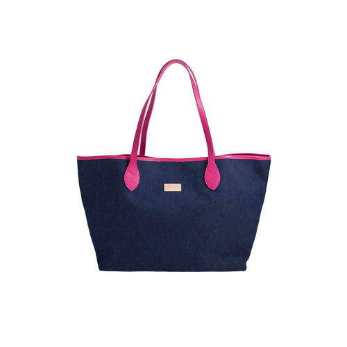 Bronzallure | Accessoriess | Bronzallure Denim Shopping Bag