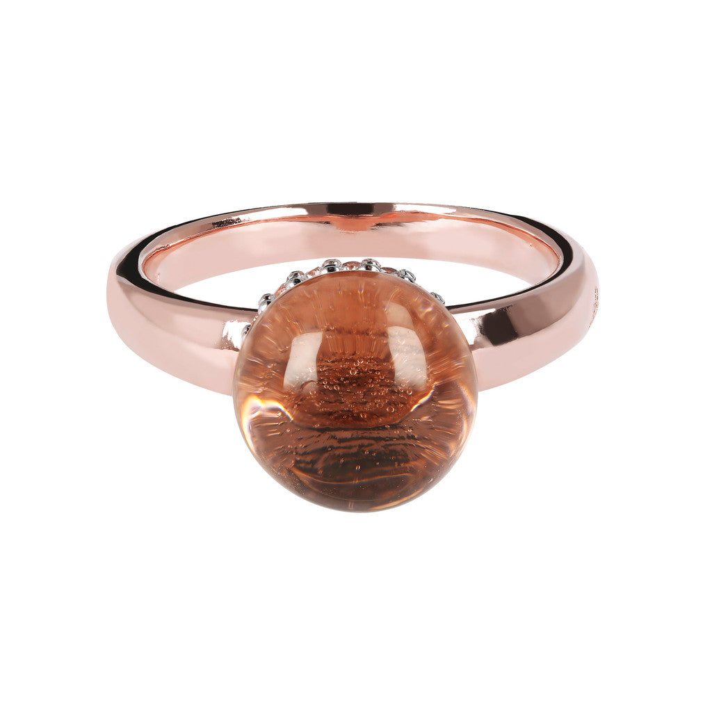 Simple ring HYDROTHERMAL MORGANITE setting