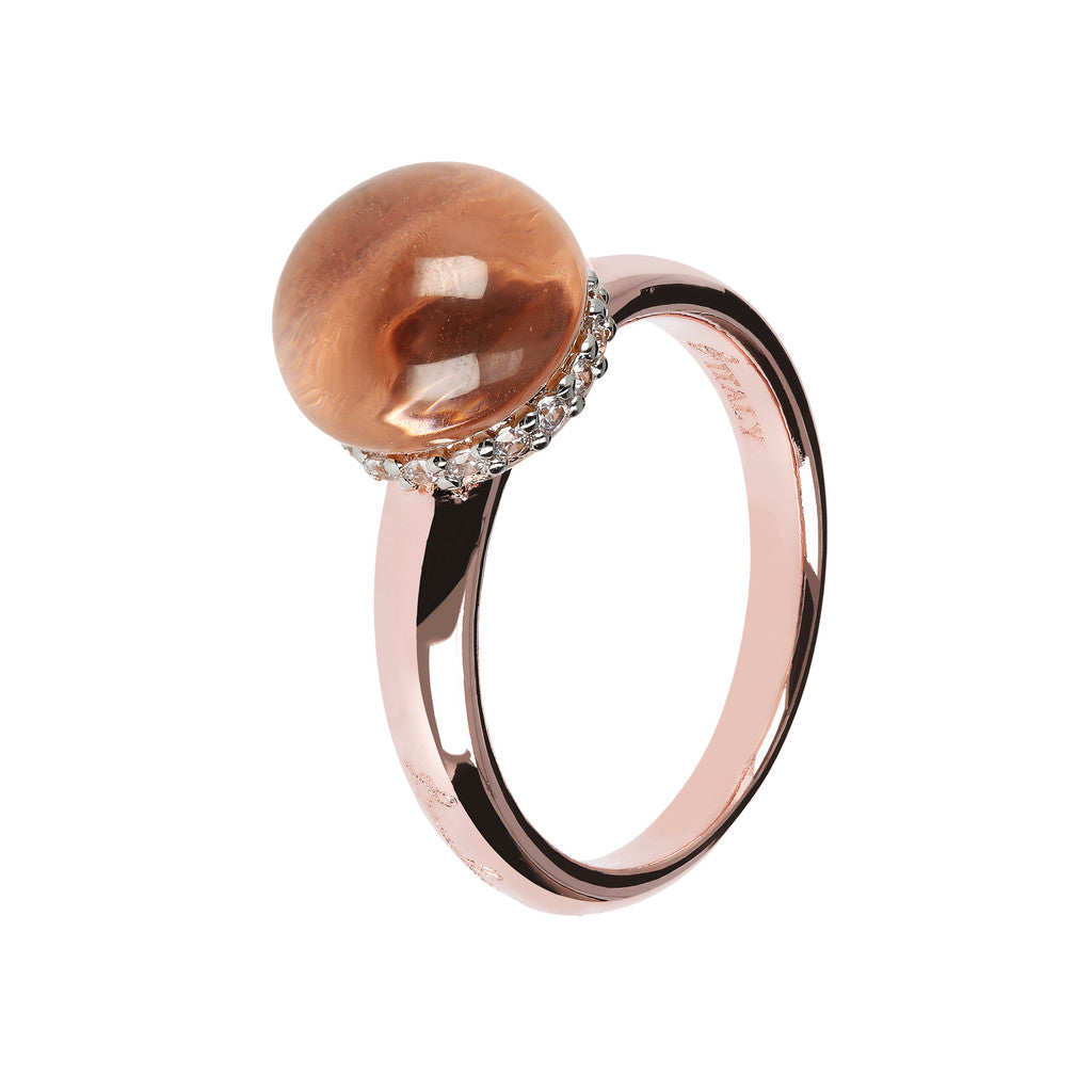 Simple ring HYDROTHERMAL MORGANITE