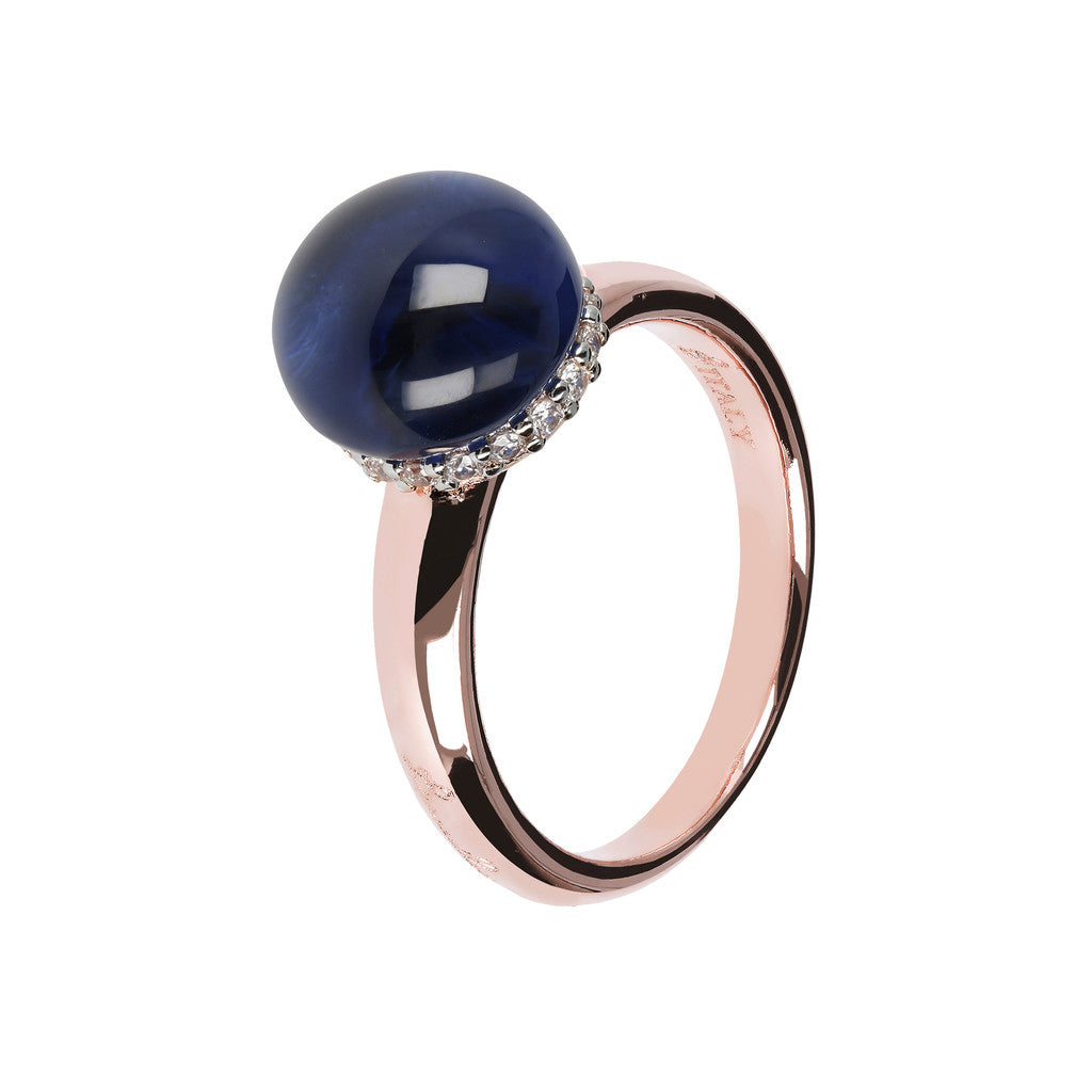 Simple ring HYDROTHERMAL SAPPHIRE