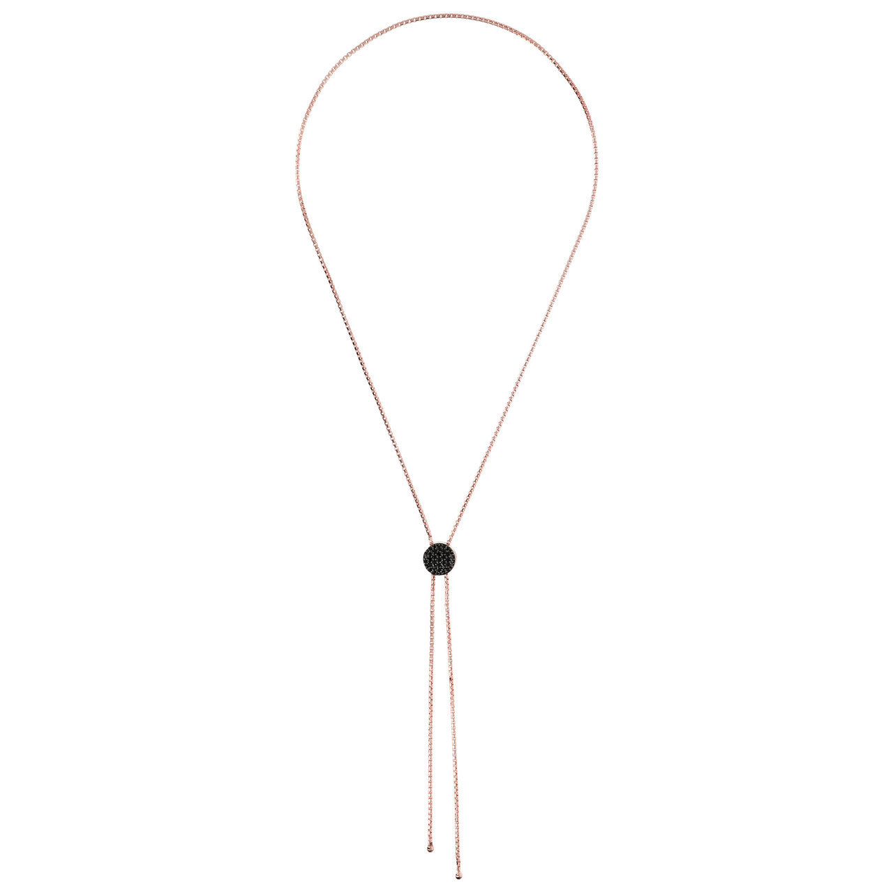 Sliding Lariat Necklace