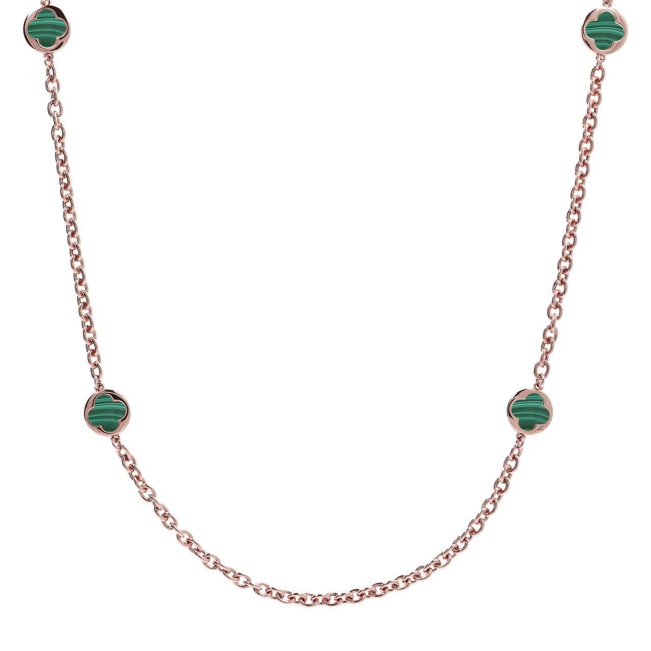 Stationary Necklace MALACHITE