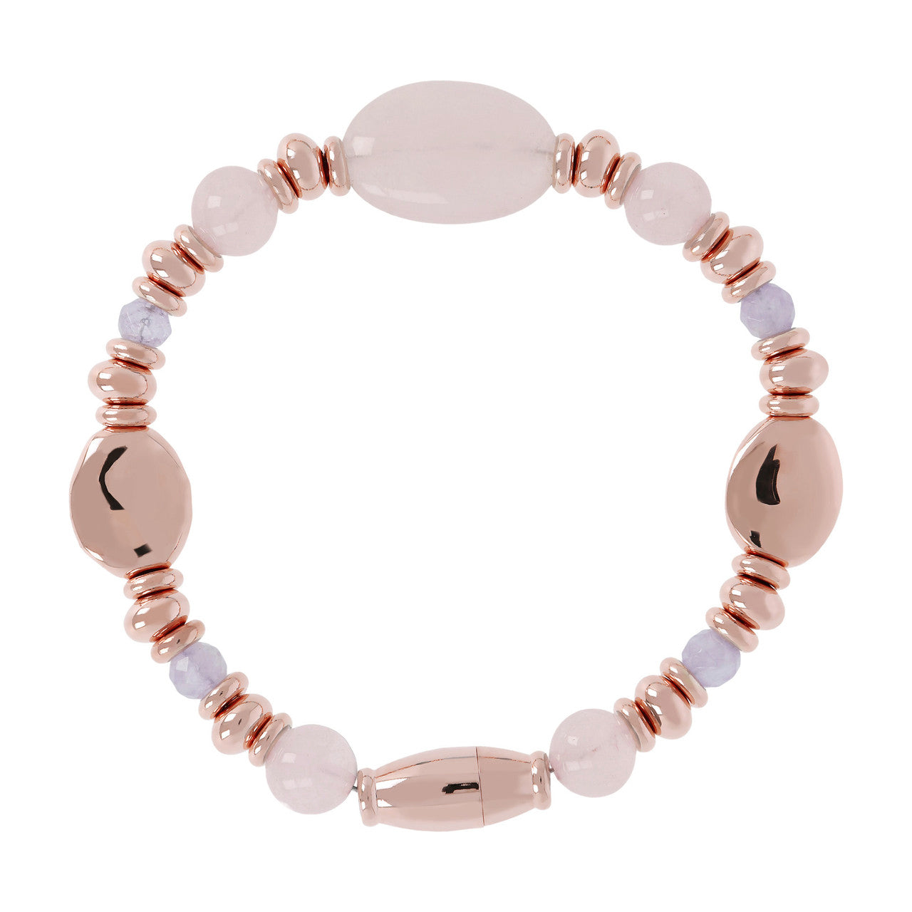 Stone Beaded Bracelet ROSE QUARTZ