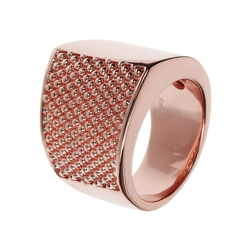 Textured Rose gold band