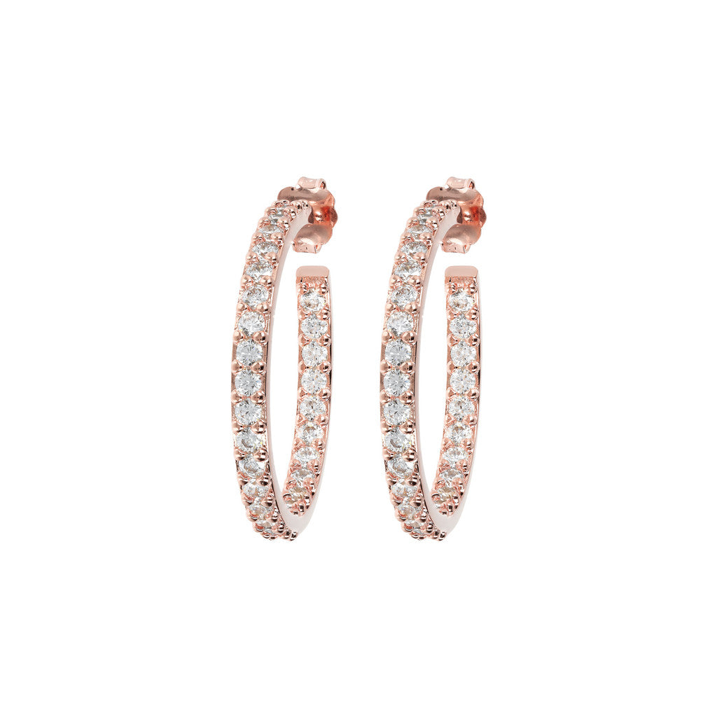Twisted CZ Hoops