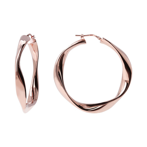 Twisted Hoops front and side
