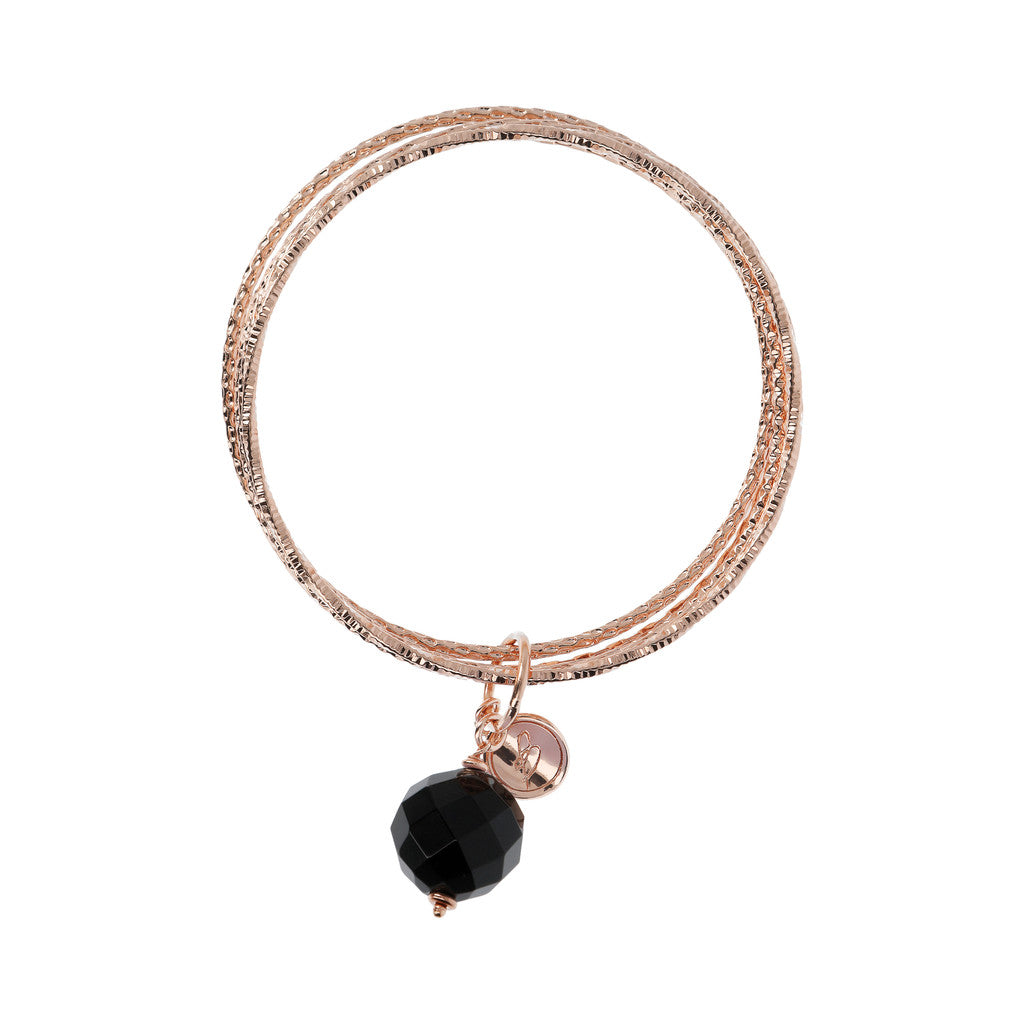 VARIEGATA Gemstone slip-on bracelet - WSBZ01386 side
