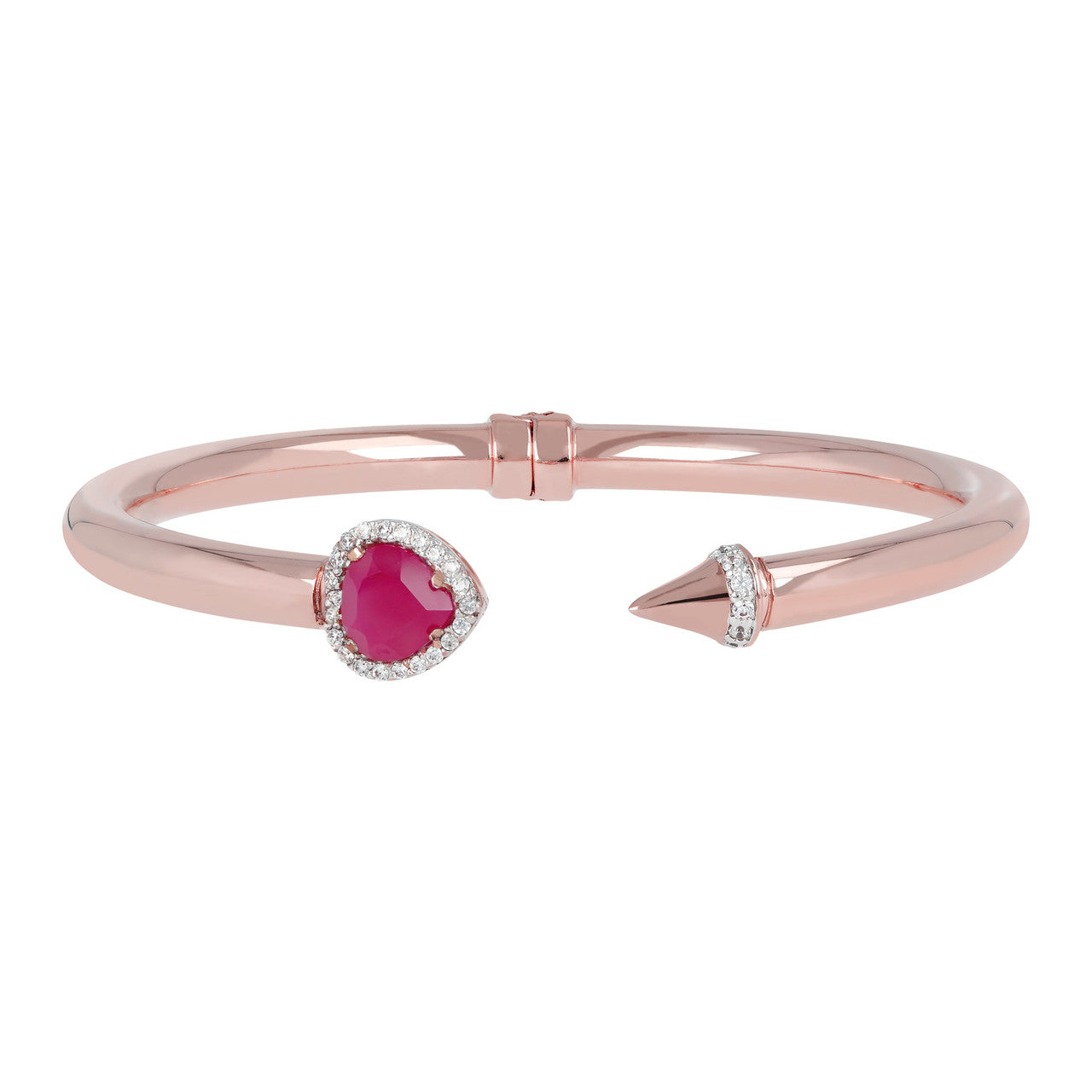 Valentine Bangle RUBY CHALCEDONY