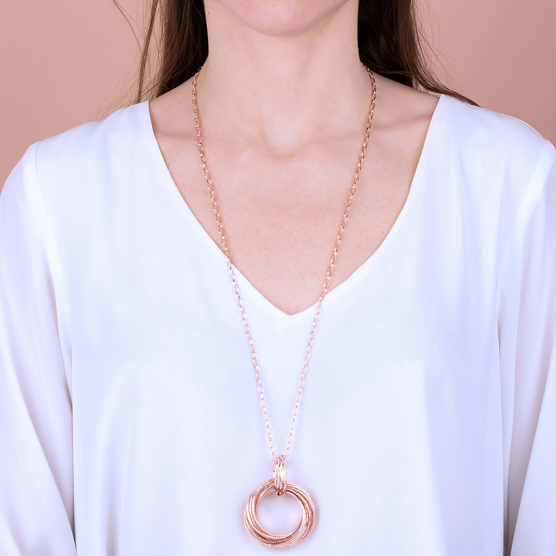 Necklace with Circles