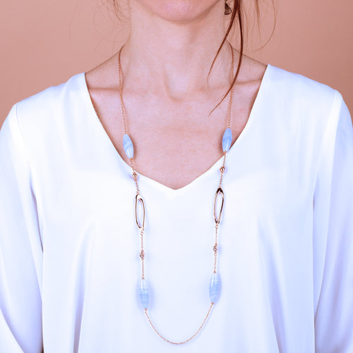 Bronzallure | Necklaces | Light Necklace Natural Gemstone