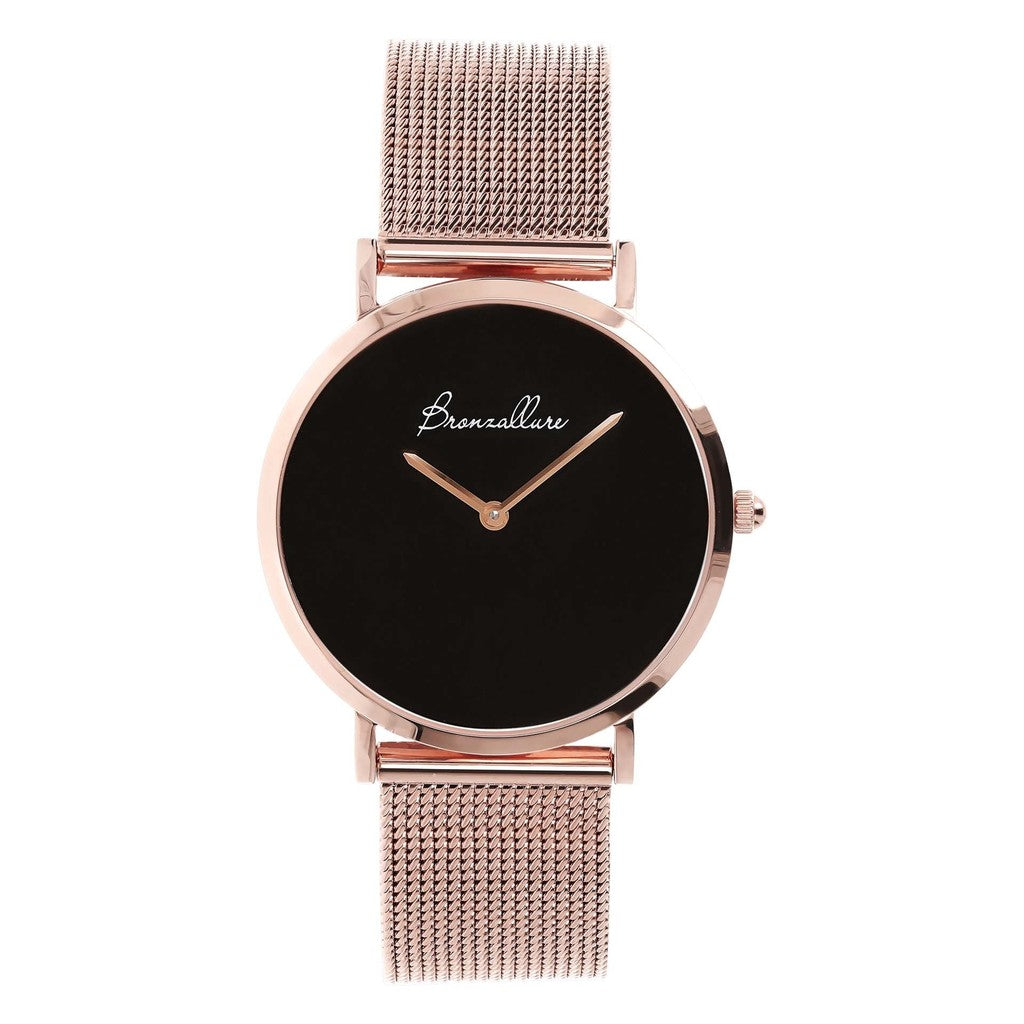 Watch Stainless Steel in Black Onyx