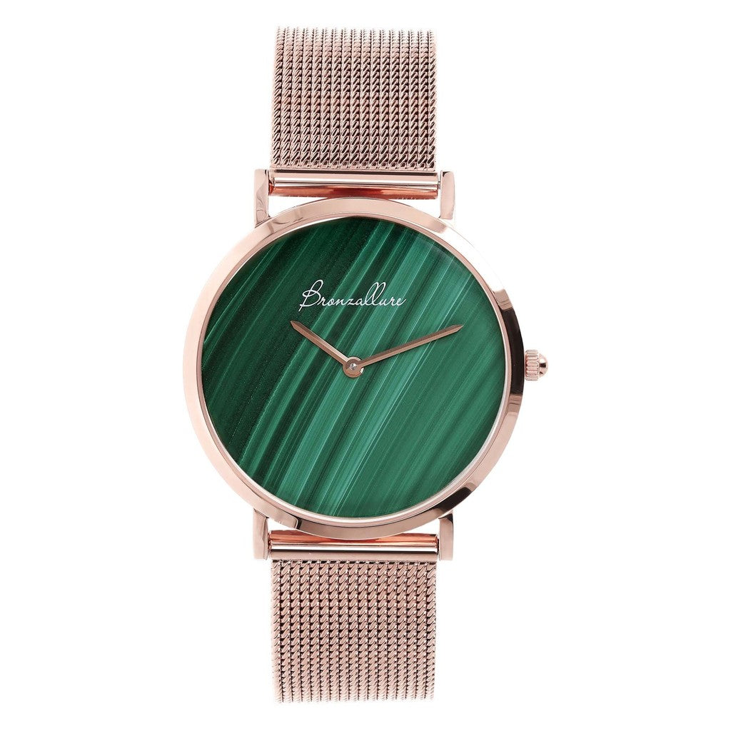 Watch Stainless Steel in Malachite