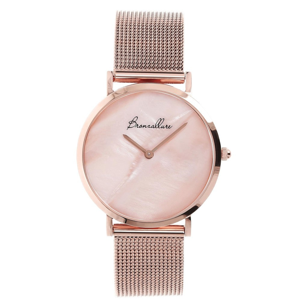Watch Stainless Steel in Pink Mop