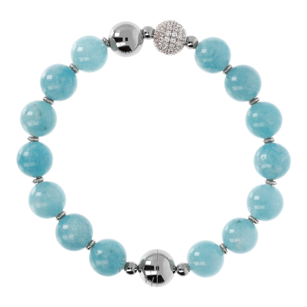 White Globe Bracelet DREAM ISLAND