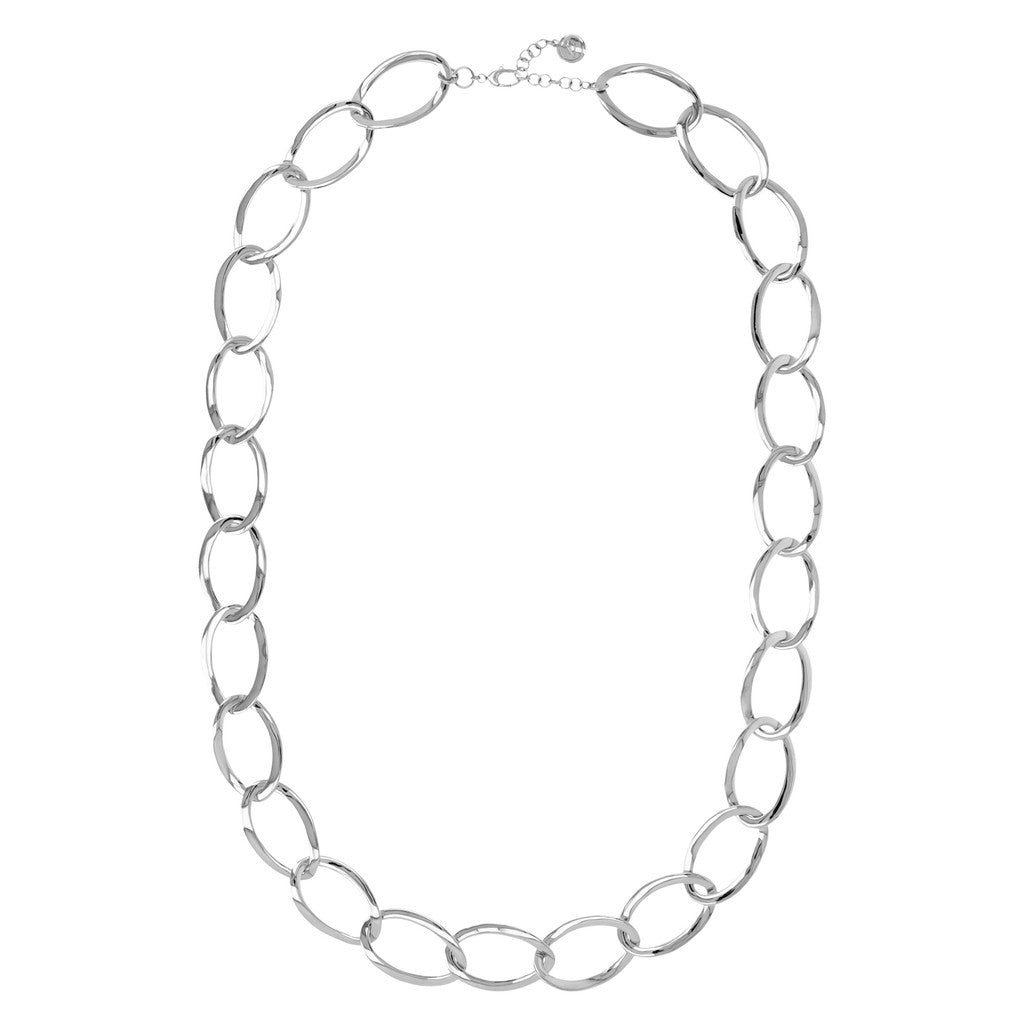 White Gold Hug Necklace
