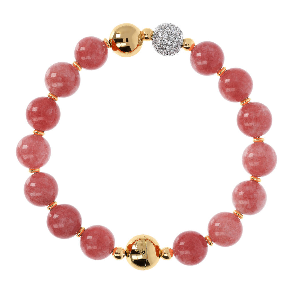 Yellow Globe Bracelet BLUSH
