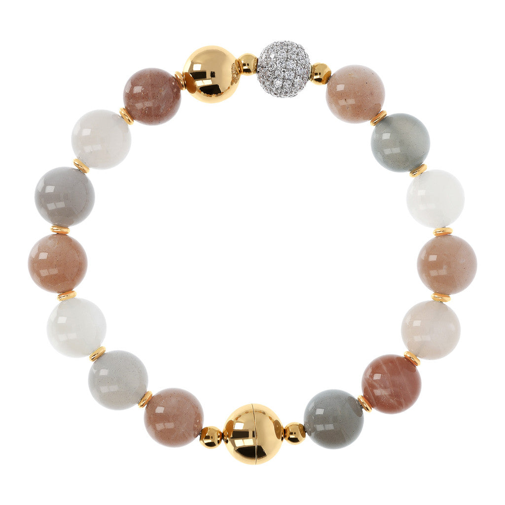 Yellow Globe Bracelet MOONSTONE