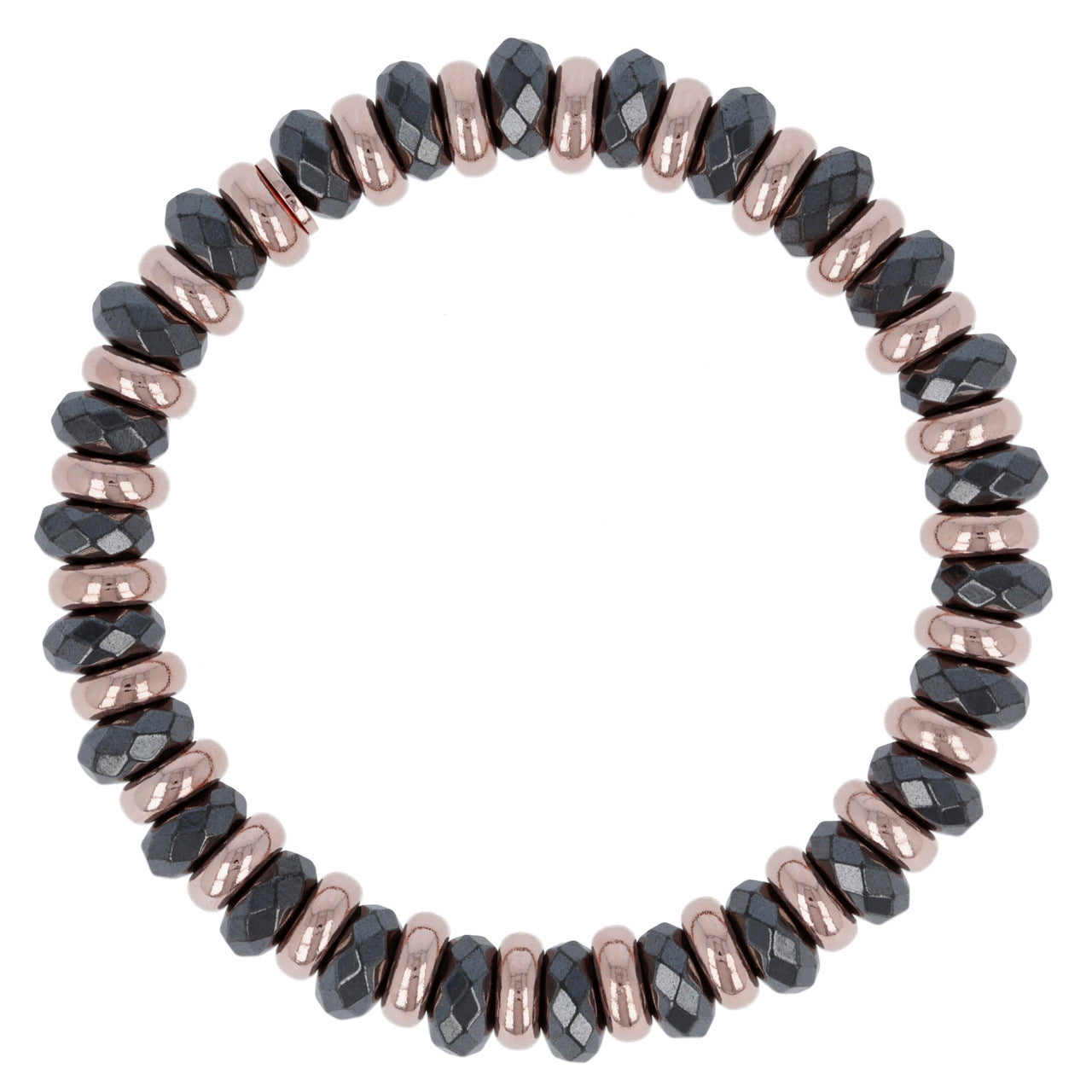 chain Hematite stretch bracelet