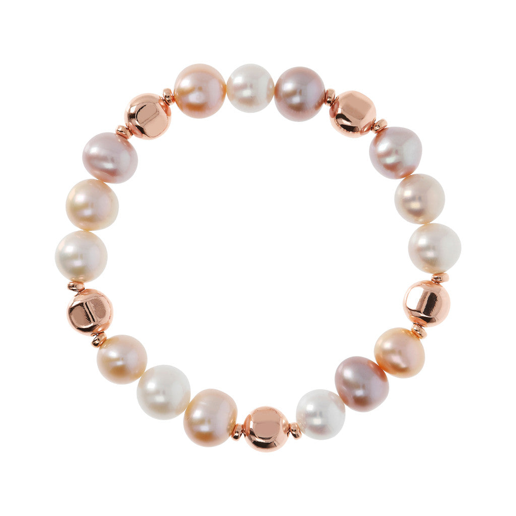 chain MAXIMA Stretch Bracelets with pearl - WSBZ01698