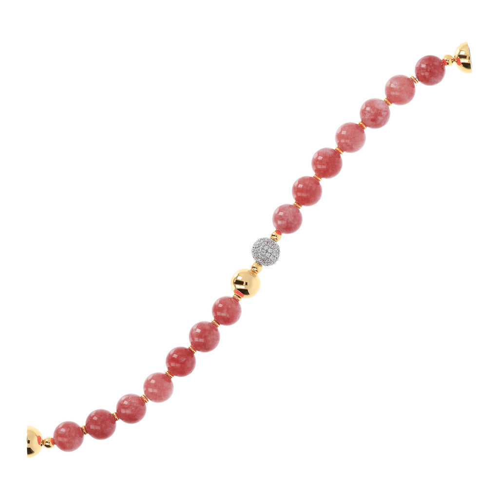 chain Yellow Globe Bracelet BLUSH