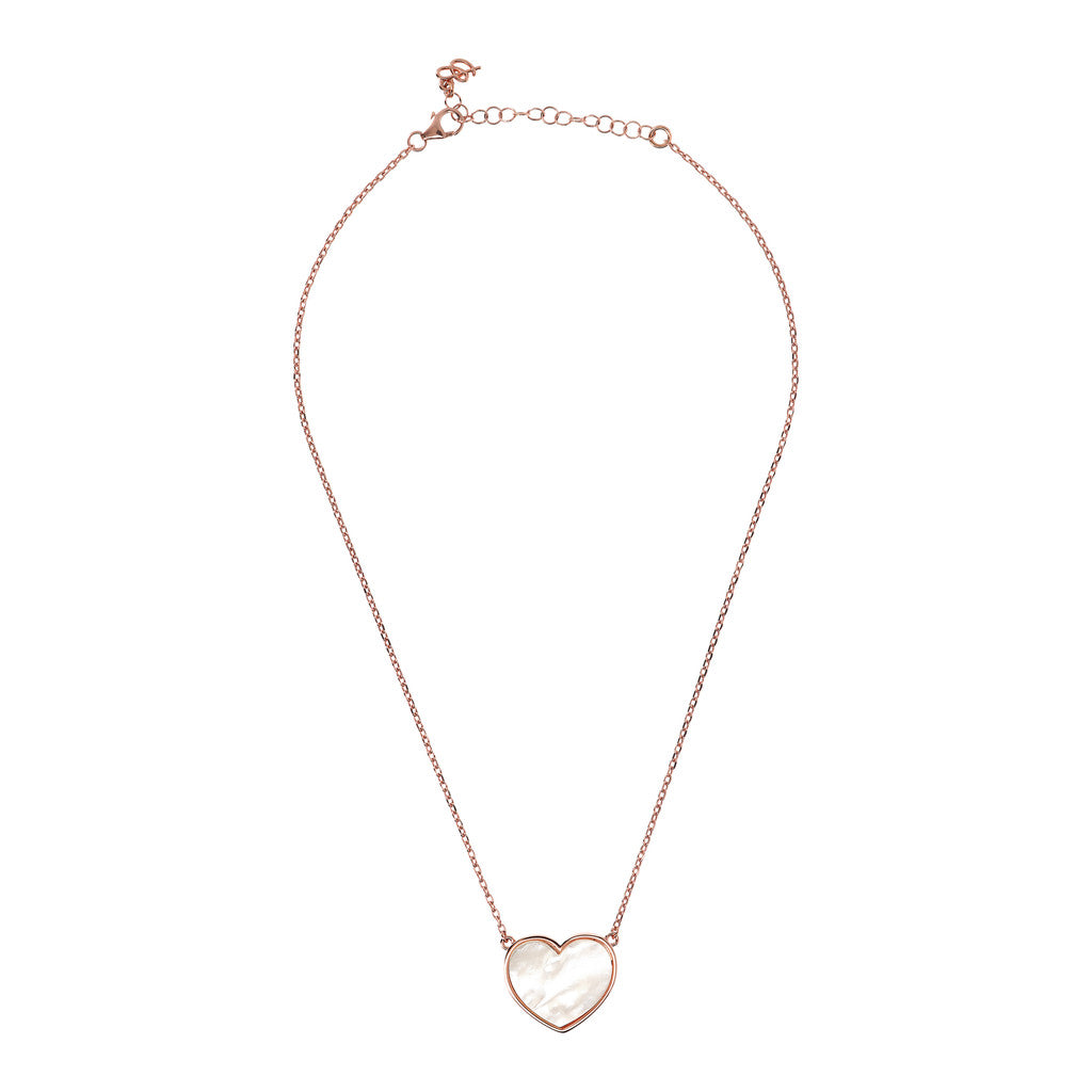 necklace, gold chain, bijoux, pendant, heart necklace, pendant necklace, rose gold necklace, chain necklace, heart pendant,  love necklace WHITE MOP from above
