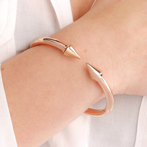 worn Arrow Bangle