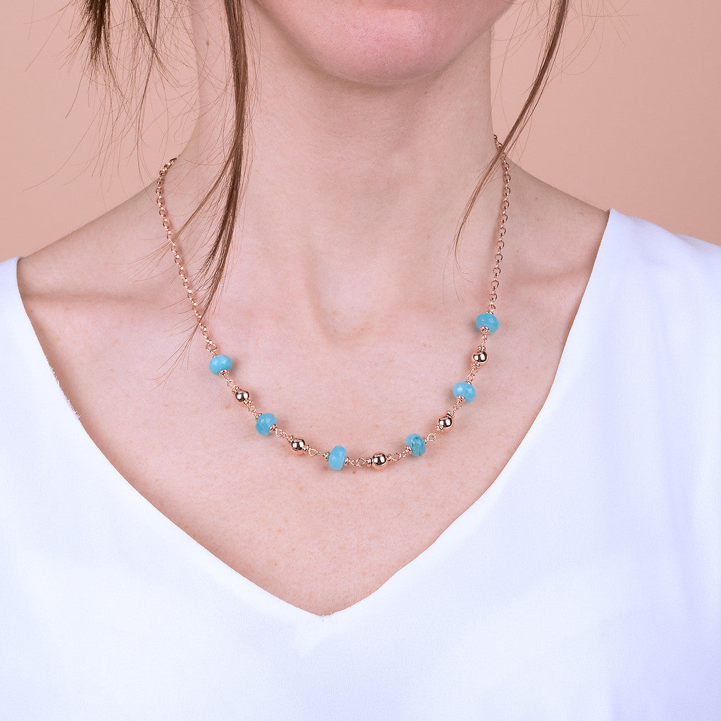 worn Colorful Moments Necklace