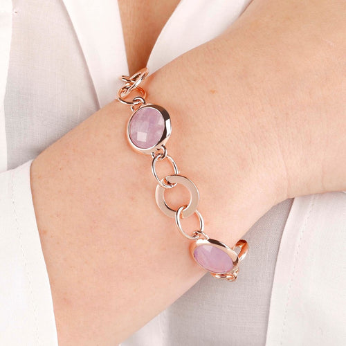 worn Gemstone bracelet