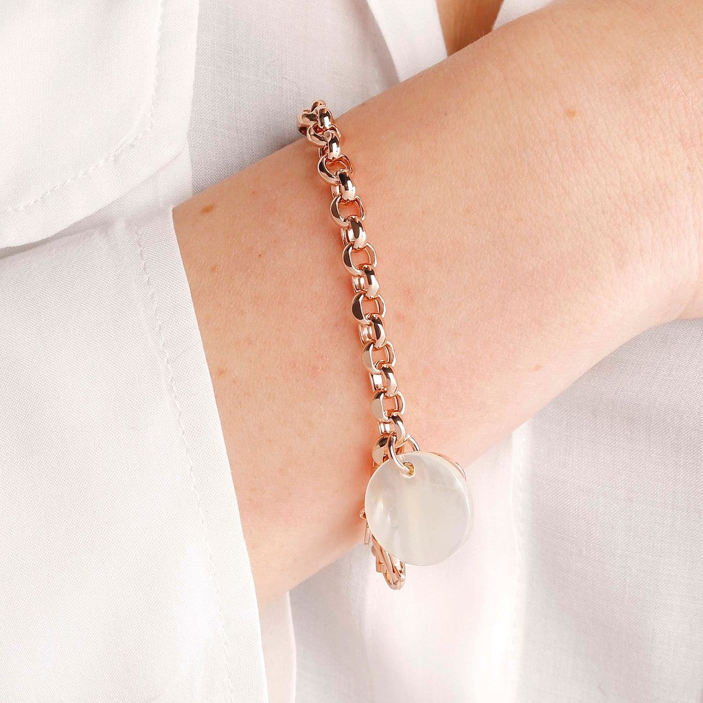 worn Mother of Pearls Bracelet