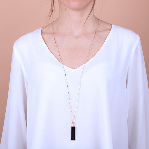 Bronzallure | Necklaces | Rectangular Necklace