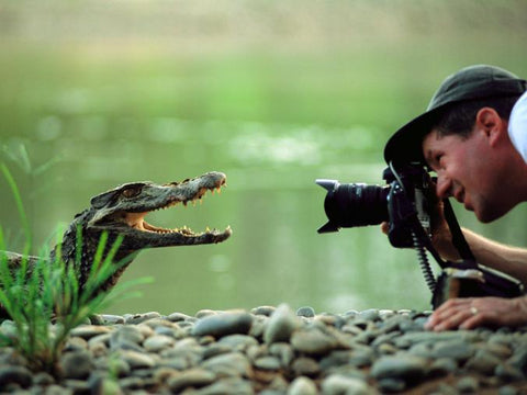 Photographer Joel Sartore gets close with his subject