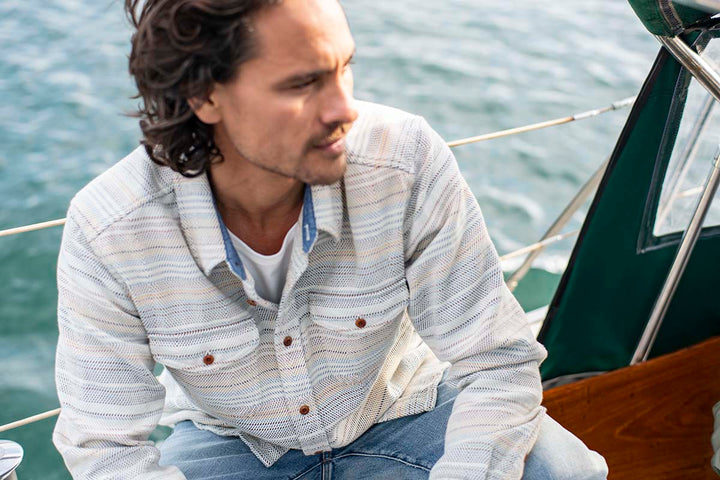 Outerknown Blanket Shirt - Coast Modern