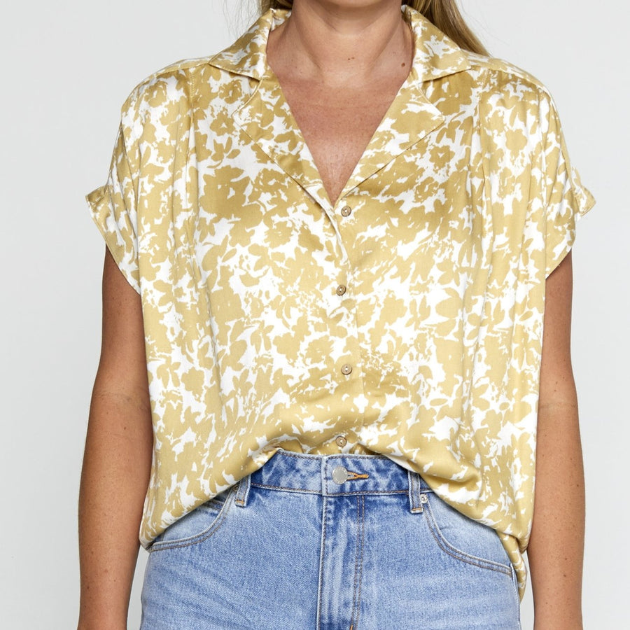 Knot Sisters,  Tops,  Sophie top - Gold, - Coast Modern