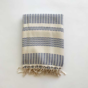 Rasim Arabaci,  Textiles,  Coast Modern Turkish Towel  - Feray Royal, - Coast Modern
