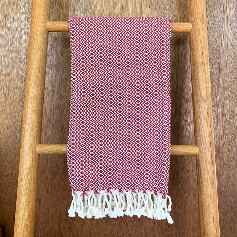 Rasim,  Textiles,  Coast Modern Turkish Towel - Hulya Rust, - Coast Modern