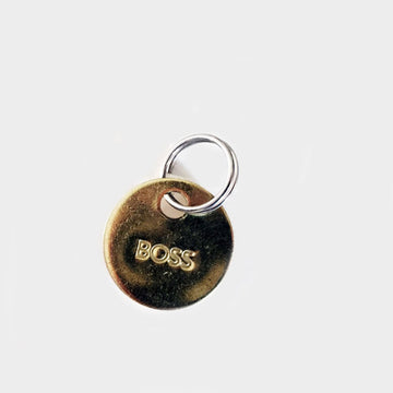 Objects,  Boss Small Brass Keychain, - Coast Modern