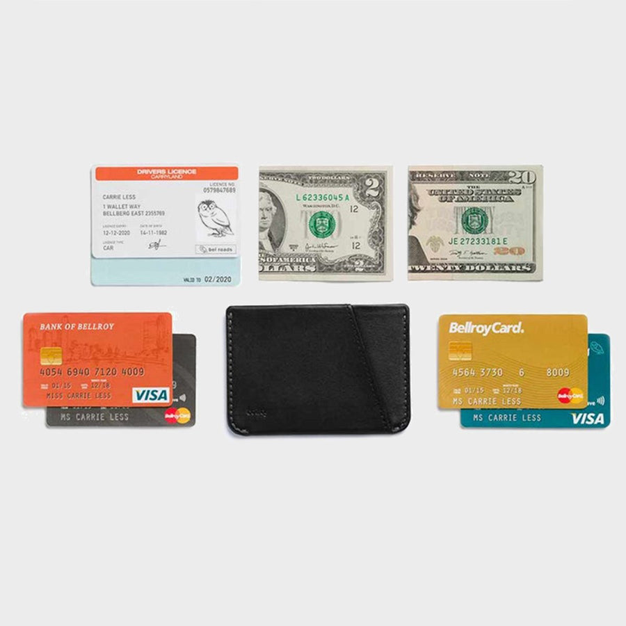 Bags & Wallets,  Bellroy Micro Sleeve - Black, - Coast Modern