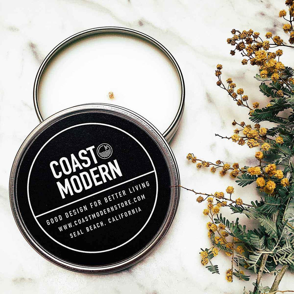Coast Modern Candle Coco wax - Coast Modern