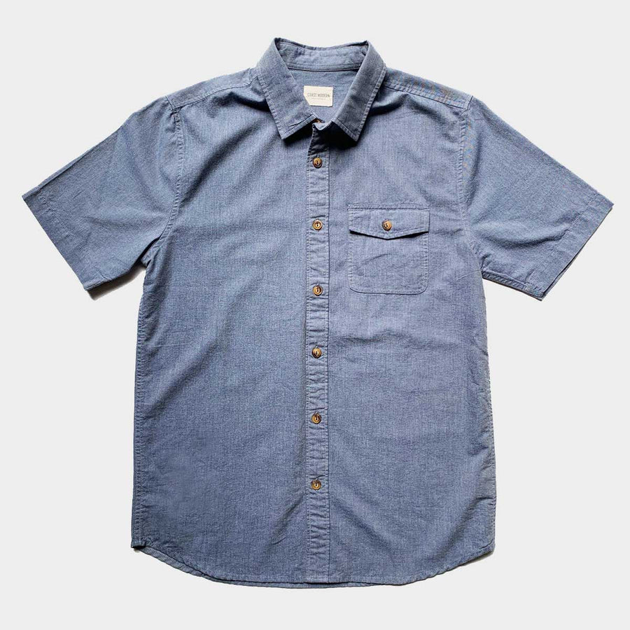 Mexim, Coast Modern Case Study Shortsleeve, Shirts, Coast Modern