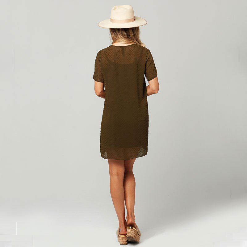 Knot Sisters, Knot Sisters Cici Dress - Military Green, Dresses, Coast Modern