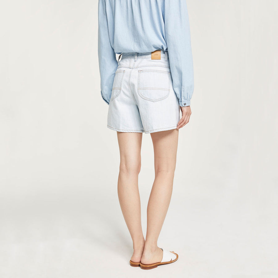 CLOSED,  Bottoms & Denim,  Closed Worker '85 Heritage Denim Shorts - light blue, - Coast Modern
