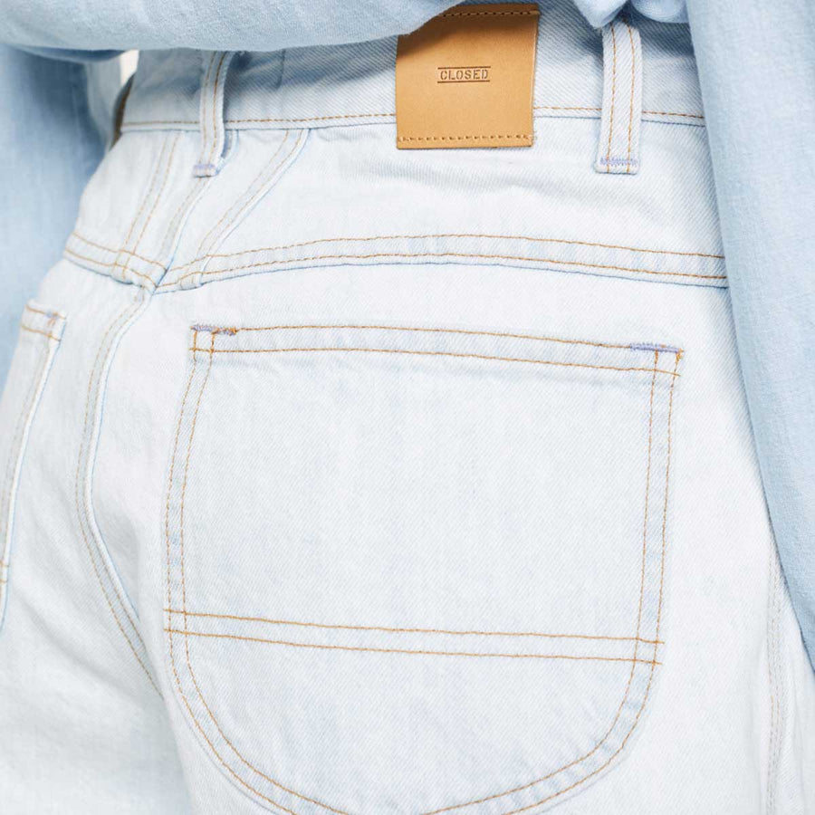Closed Worker '85 Heritage Denim Shorts - light blue - Coast Modern